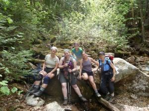 Mt. Tecumseh Trail Training Hike 2014